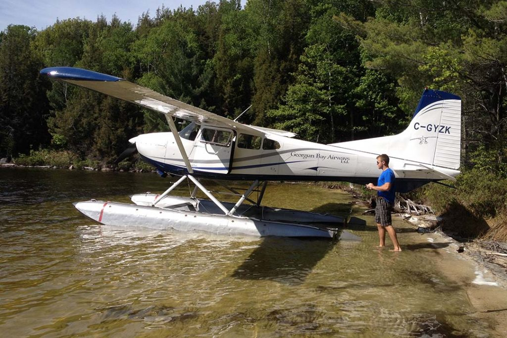 Float Training - Georgian Bay Airways
